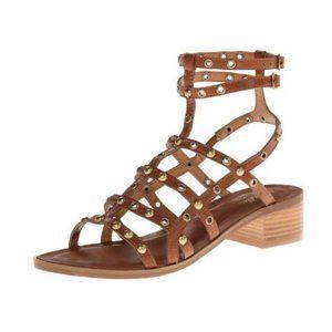 ANTHRO SEYCHELLES Boho Studded Gladiator Sandals